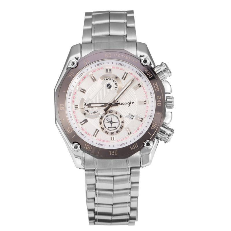 Man stainless steel quartz watch