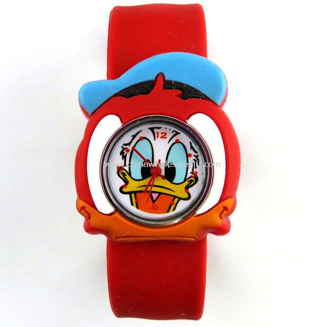 Silicone animal shape watch