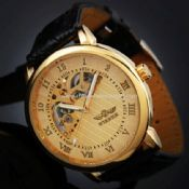 Golden Roma number mechanical watch images