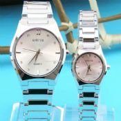Stainless steel lover sports watch images