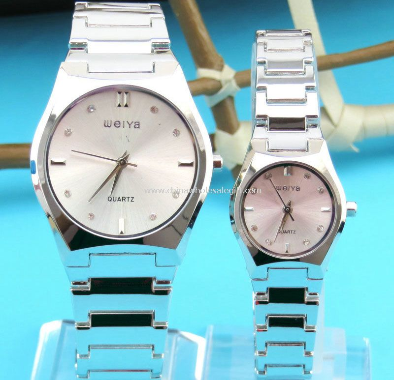 Stainless steel lover sports watch