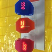 Colorful Silicone led watch images