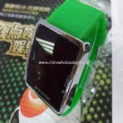 Silicone band led watch images