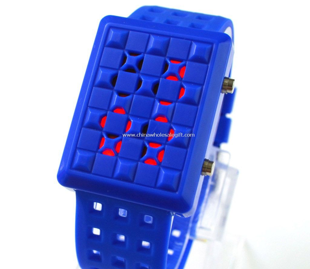 LED Students watch
