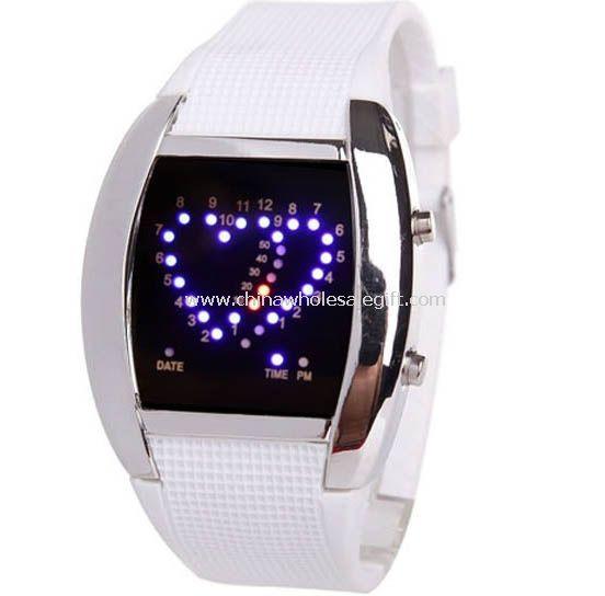 LED Heart watch