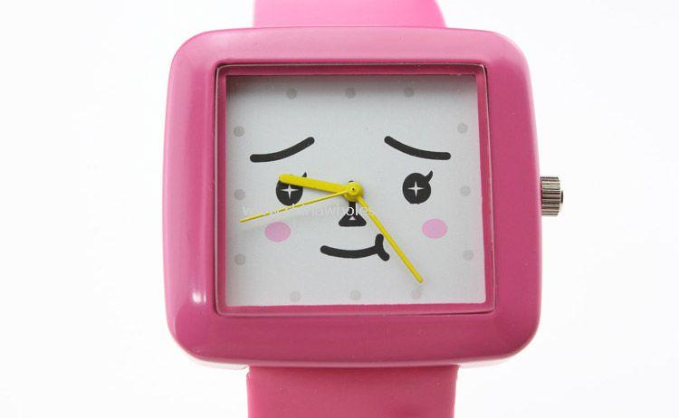 Fashion plastic watch