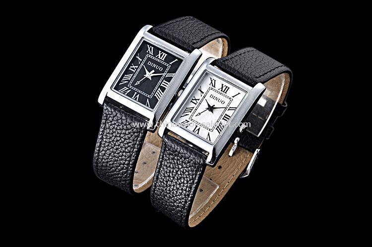 Leather lover watch