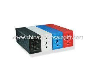 Portable mini cube bluetooth speaker