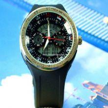 Double movement digital watch