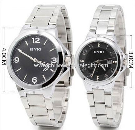 Lover watch with calendar