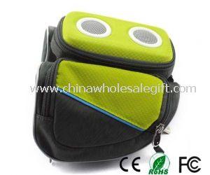 Waterproof bike speaker bag