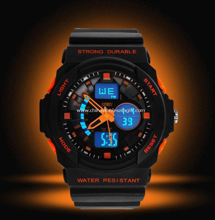 Waterproof sports watch