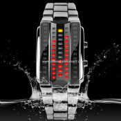 Waterproof led watch images