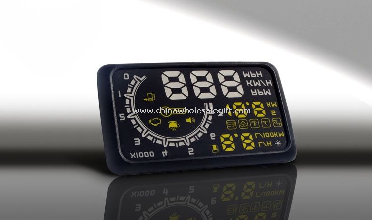OBD HUD MILE/Speed/battery voltage Monitor for car