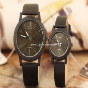 Leather band lover watch images