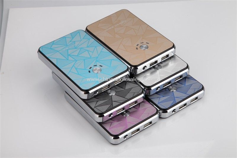 External Battery Charger Portable power bank with led charge indicator 8000mah