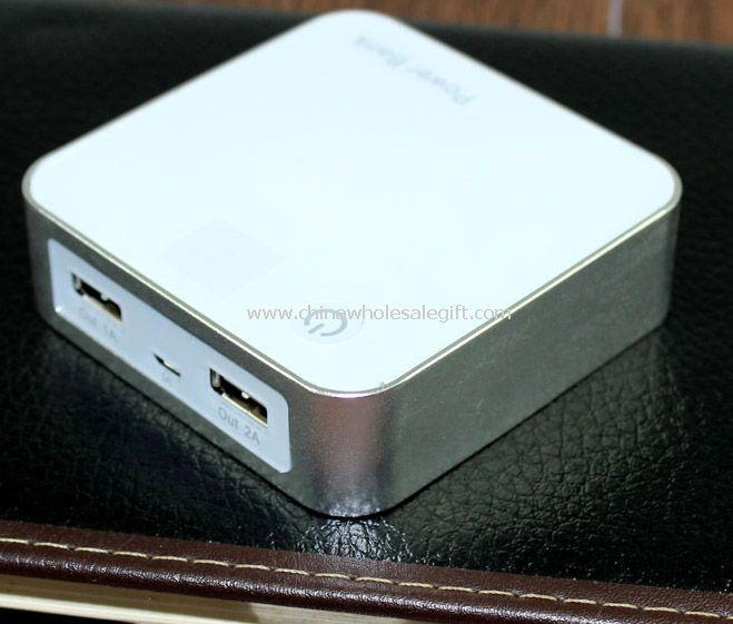 8800mah Magic Cube With Digital LED Mobile Power Bank