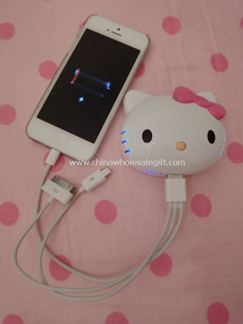 Hello Kitty Power Bank 8800mah external battery