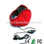 Comfortable ear cover stereo headphone images