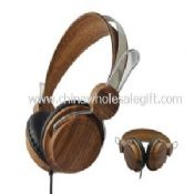 Wooden Stereo Headphone images