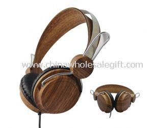 Wooden Stereo Headphone