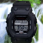 Waterproof students digital watch images