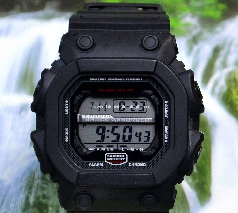 Waterproof students digital watch