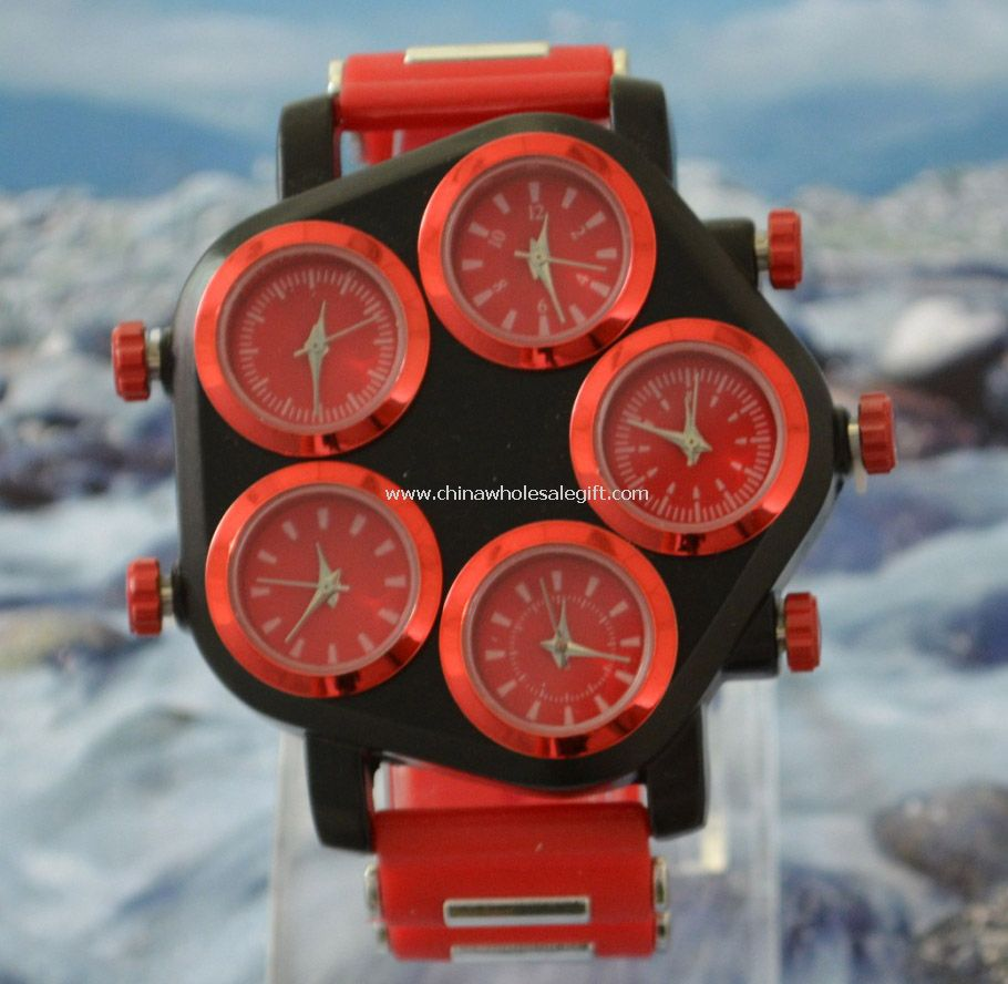 World time gift watch