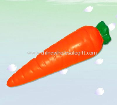 Carrot stress ball