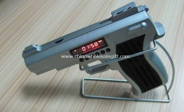 Gun shape mini speaker for mobile phone