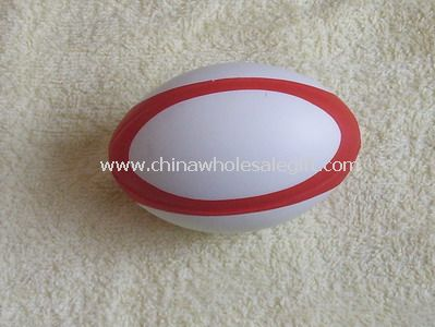 Rugby ball stress ball