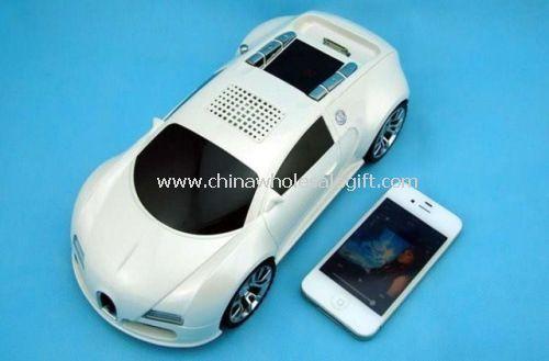 Fashional design car shape speaker for iphone