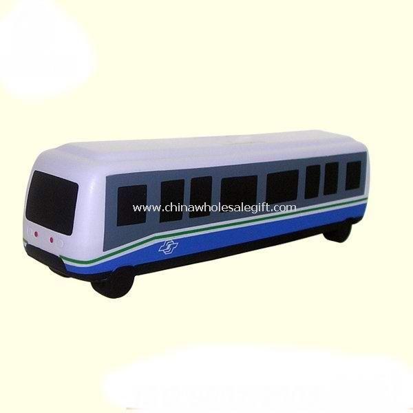 Bus shape stress ball