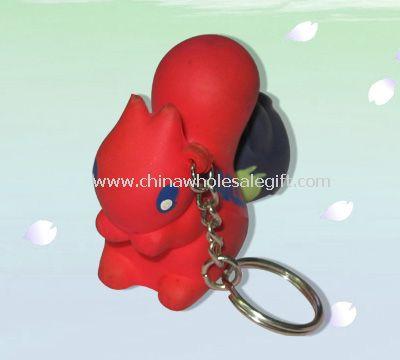 Keychain stress ball