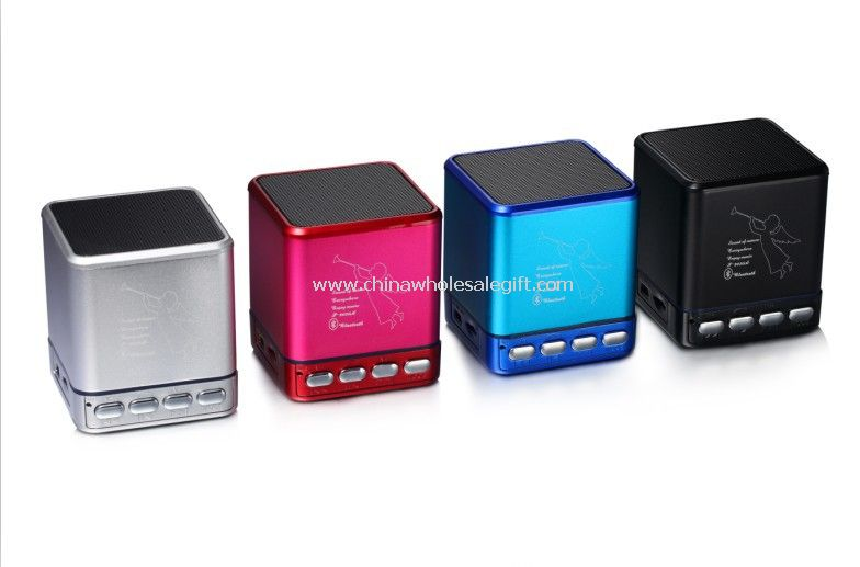 Cool square mini speaker with handsfree function