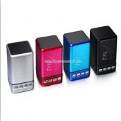 Cool square mini speaker with handsfree function images