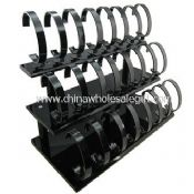 Dark Acrylic C-Shape 3-tier Watch Stand images