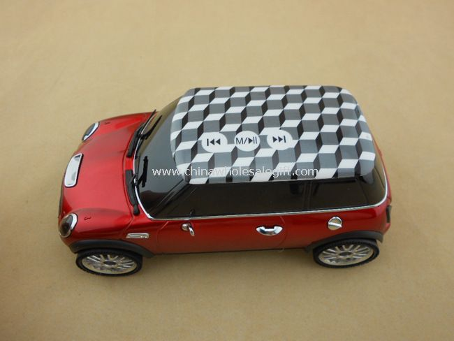 Mini car speaker with touch screen support U-disk/Micro SD card FM radio