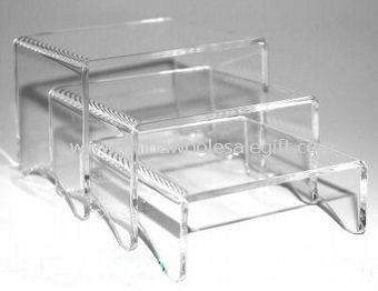 Three Risers Clear Acrylic Display