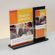 Acrylic Sign Holder/Brochure Display images