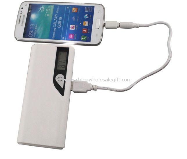 10000mAh Dual USB Portable Power Bank For Cellphone