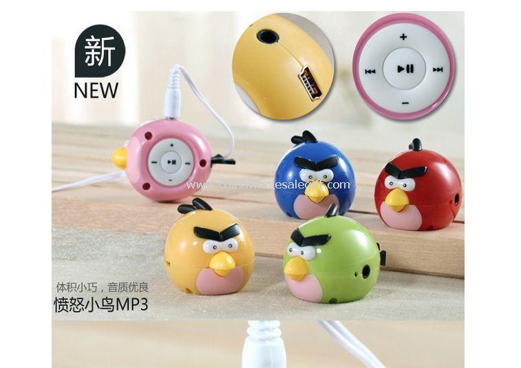 Angry little birds speaker for MP3 music
