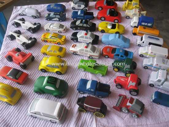 Car shape stress balls