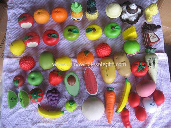 Food shape Stress balls