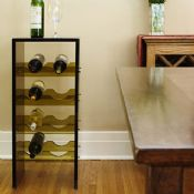 Beautiful Acrylic Small Wine Rack images