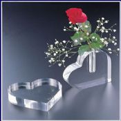 Clear Heart-shaped Decoration images