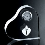 Clock Heart-like Decoration images