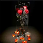 Transparent Elegant Cup-shaped Acrylic Vase/Flower Vase images