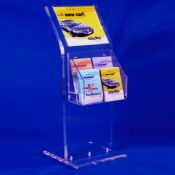 Acrylic brochure display stands images