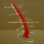 Tree shape red/clear acrylic sunglasses display stand images